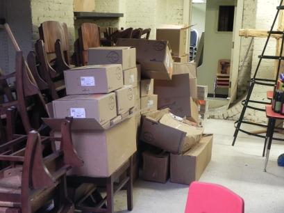 Light fixtures inventory